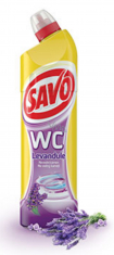 Savo WC gel 750ml - levandule